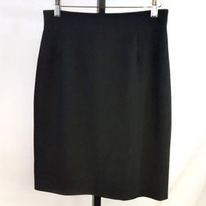 Black Emanuel Ungaro Pencil Skirt Sz: 8/42